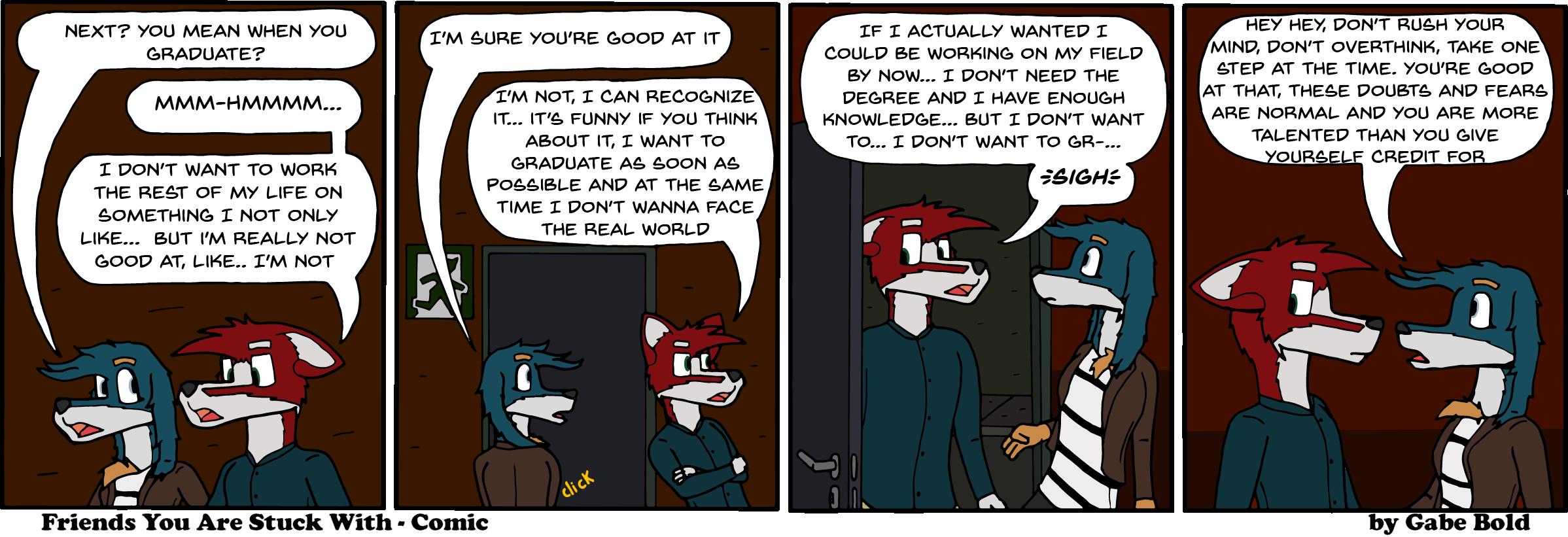 The Inevitable dread of adulthood